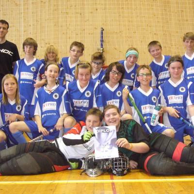 ZETPRO podpora Florbal team 1