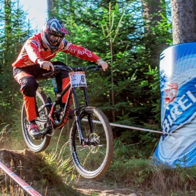ZETPRO podpora sportu - downhill