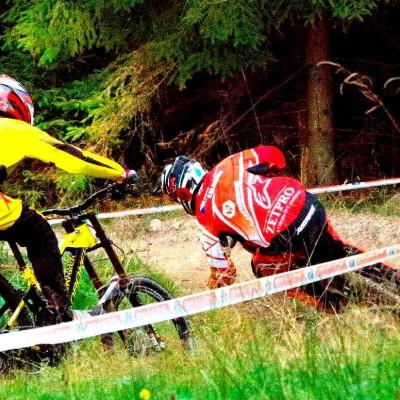 Downhill - Český pohár 9. místo muži elite