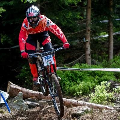 Downhill - MSP 5. místo muži elite
